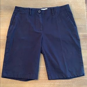 Women's Talbots Navy Shorts